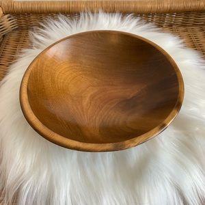 Vintage wood bowl